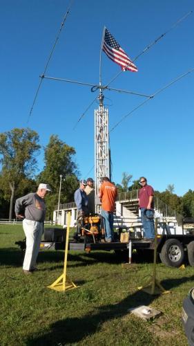 AJARC Tower Raising Crew